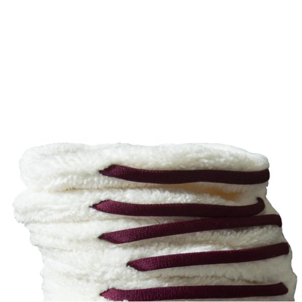 Lot de 5 pancakes bordeau - paulette zéro déchet