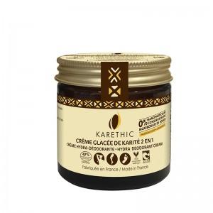 creme glacée - déodorant baume corps - Karethic