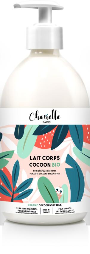 lait hydratant cocoon bio Chouette Paris
