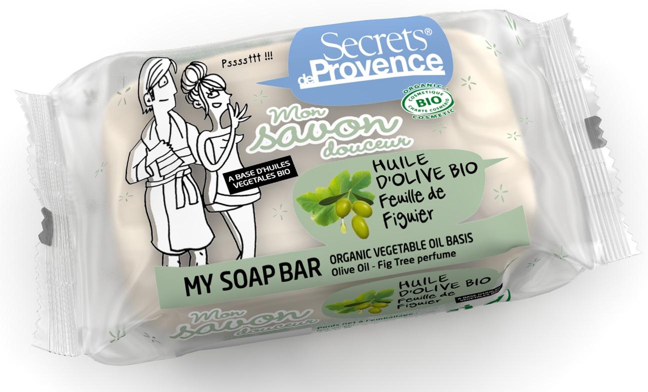 Doux Good - Secrets de Provence - Savon douceur a l'huile d'olive - parfum feuille de figuier