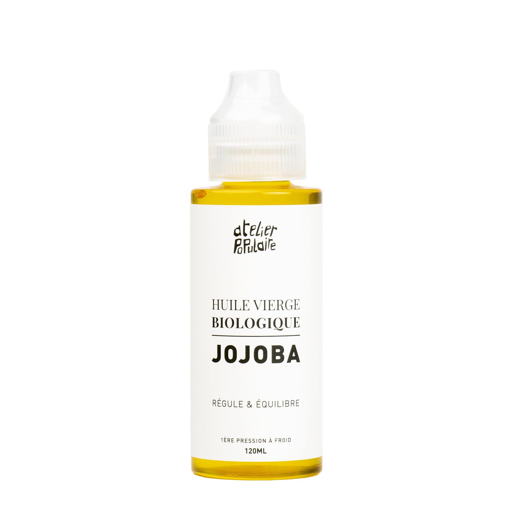 huile vierge biologique de Jojoba Atelier Populaire 120ml