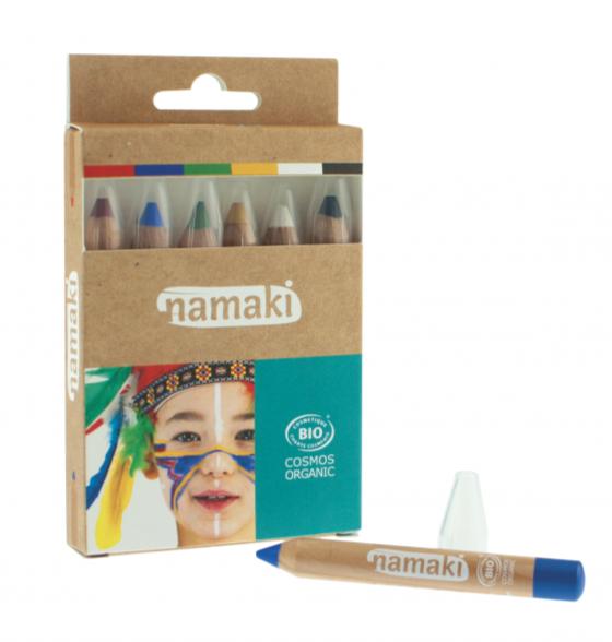 Kit_6_Crayons_Maquillage-Arc-en-ciel-Namaki