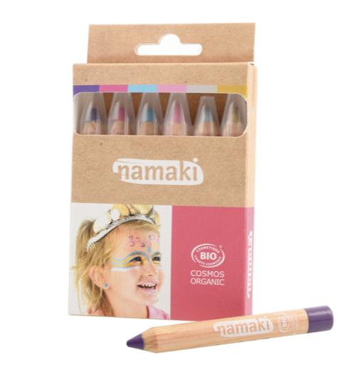 Kit_6_Crayons_Maquillage-Mondes-enchantés-Namaki