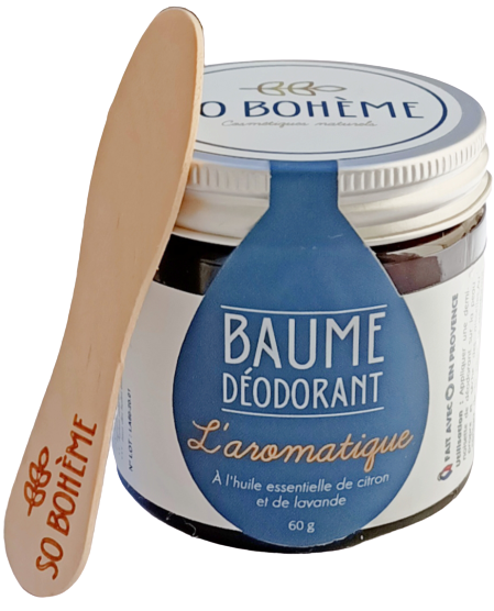 Baume déodorant L'Aromatique - So Bohème cosmétiques