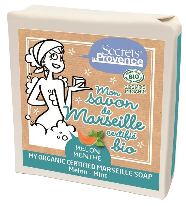 Secrets de Provence - savon de Marseille Melon Menthe