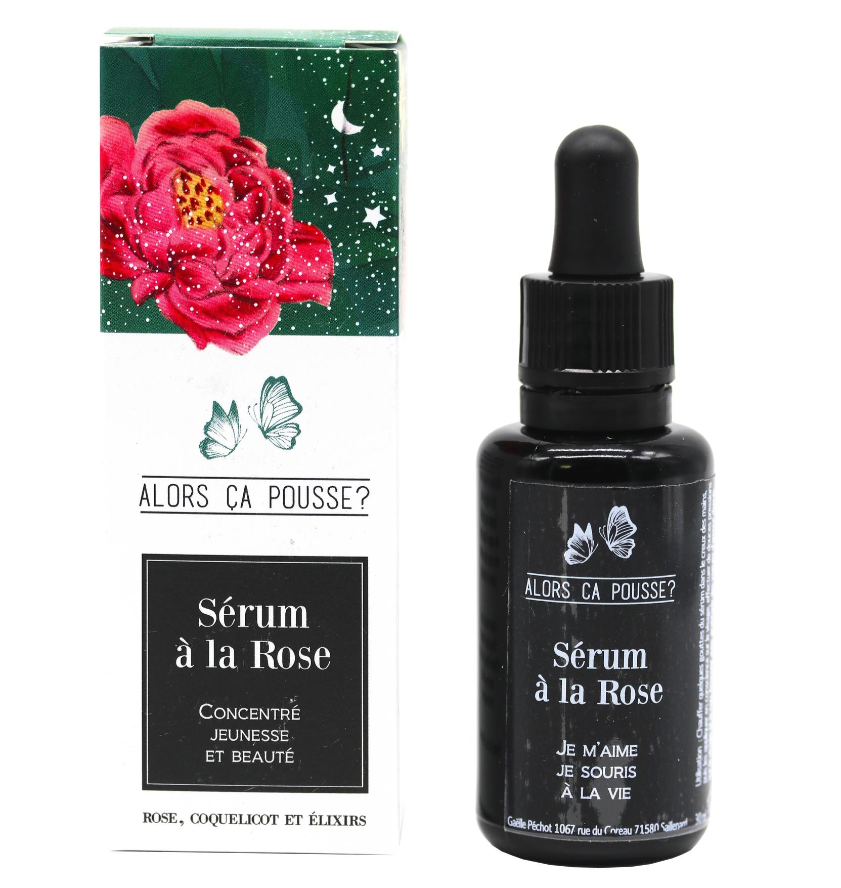 Alors Ca Pousse - Serum a la rose