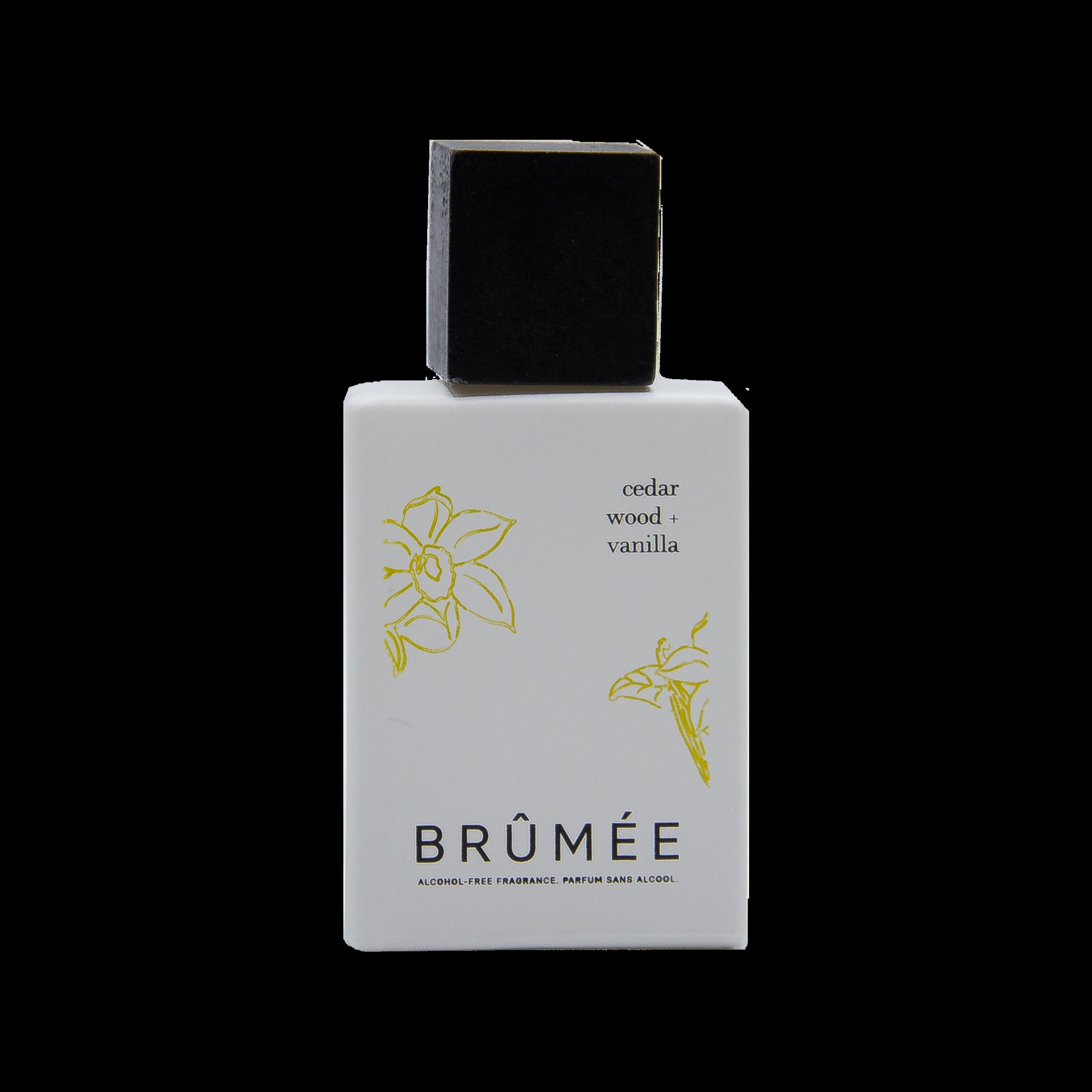 Cedar Wood + Vanilla - parfum Brumee