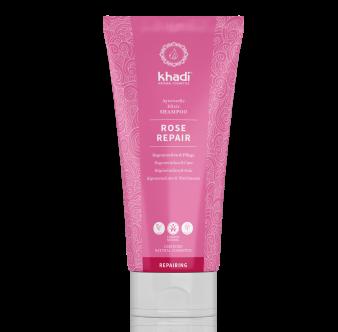 ROSE REPAIR - shampooing-ayurvedique-rose-khadi