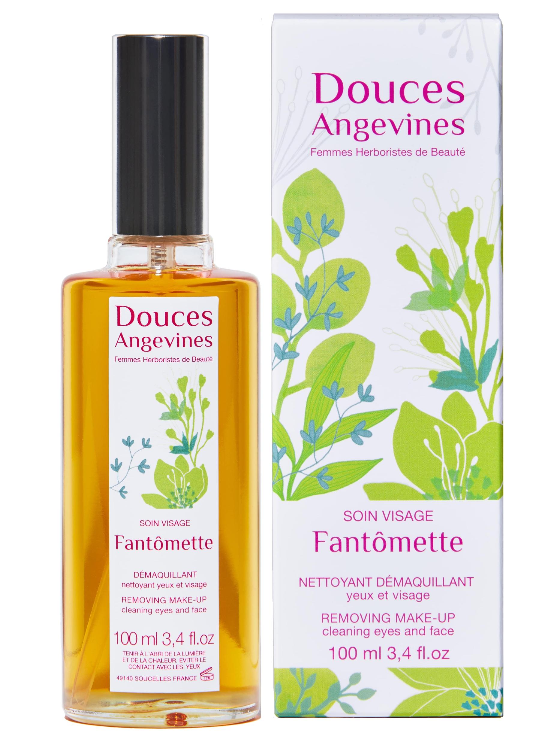 Fantomette, huile démaquillante des douces angevines, bio et vegan
