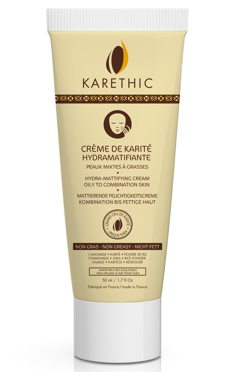 Karethic_Crème de karite_ Hydramatifiante
