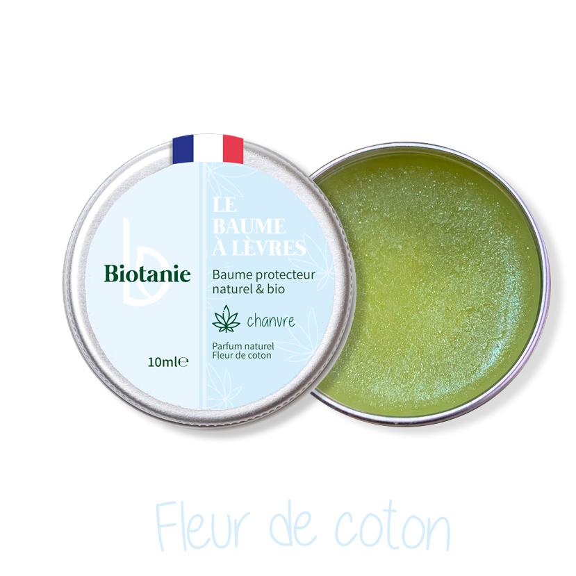 Baume-a-levres-flur de coton-Biotanie