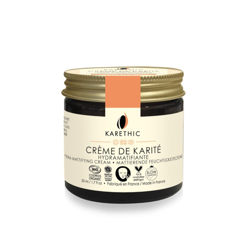 Crème de karité hydra-matifiante Karethic