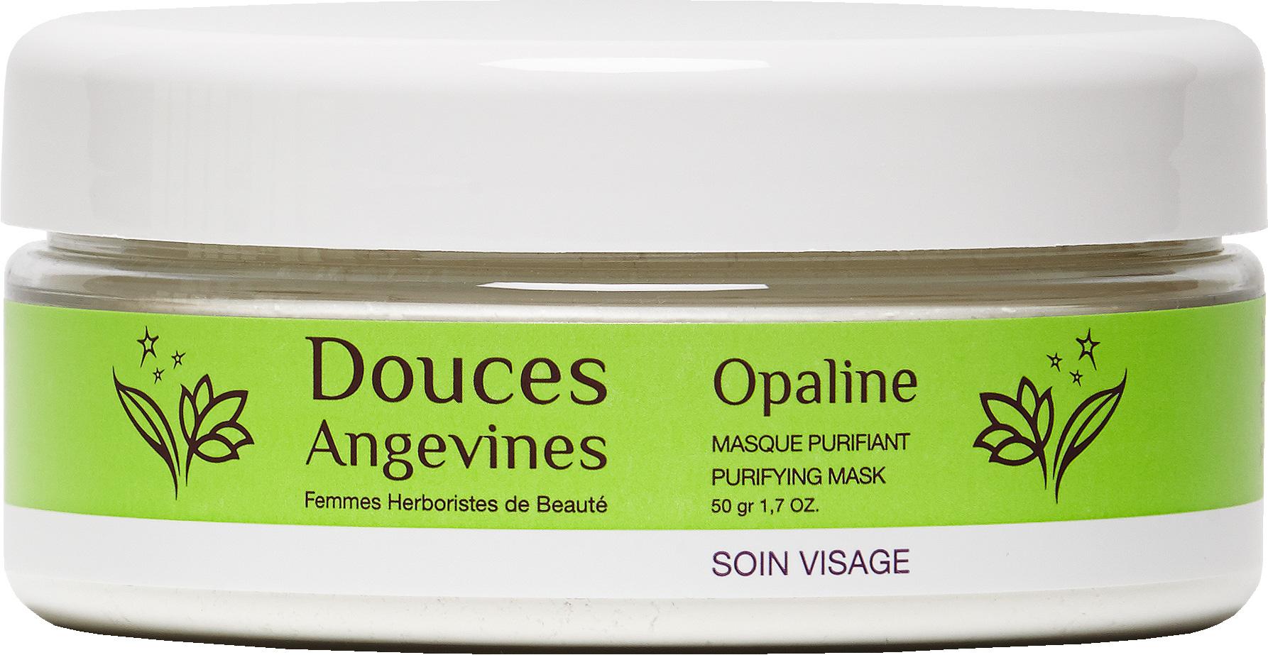 Douces Angevines - Opaline, masque poudre purifiant visage a composer