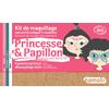 Kit de maquillage 3 couleurs - Princesse et papillon - Namaki