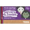 Kit de maquillage 3 couleurs - Sorcière et zombie - Namaki