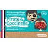 Kit de maquillage 3 couleurs - Pirate et coccinelle - Namaki