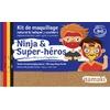 Kit de maquillage 3 couleurs - Ninja et Super-héros - Namaki
