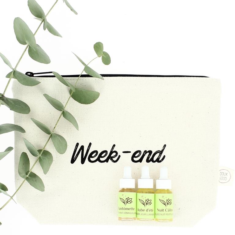 Trousse mes essentiels week end douces angevines - Week end a nice ...
