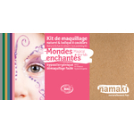 Kit de maquillage 8 couleurs - Mondes enchantés - Namaki