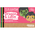 Kit de maquillage 3 couleurs - Dragon et lutin - Namaki