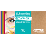 Kit de maquillage 8 couleurs - Arc en ciel - Namaki