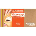 Kit de maquillage 8 couleurs - Vie sauvage - Namaki