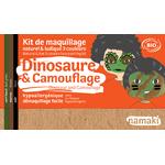 Kit de maquillage 3 produits - Dinosaure et camouflage - Namaki