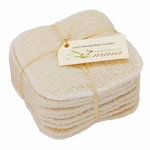 Recharge 10 carrés démaquillants lavables Coton bio biface - Les Tendances d'Emma