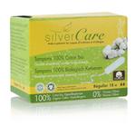 Tampon Régulier sans applicateur - 100% coton bio - Silvercare