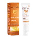 Baume solaire visage bio - Haute protection SPF30 - Acorelle