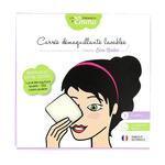 Kit découverte - 3 carrés démaquillants lavables en coton bio biface - Les Tendances d'Emma