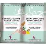 Grains exfoliants pour la douche - Tonic vivifiant - Secrets des Fées