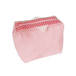 Trousse Audrey rose - Collection Vichy - Les Mouettes Vertes