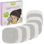 Recharge 10 carrés gris démaquillants lavables - spécial maquillage des yeux - Les tendances d'Emma