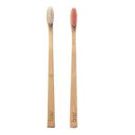 Brosse à dents en bambou modèle adulte médium - Boo