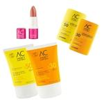 Trio de soins solaires - Tous sur les pistes - Annecy Cosmetics