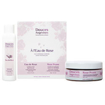 Coffret A l'eau de Rose - Duo gommage caresse - Douces Angevines