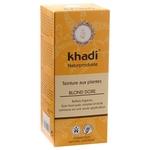 Coloration végétale naturelle aux plantes ayurvédiques - Blond doré - Khadi
