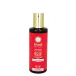 Rose - Shampoing ayurvédique pour cheveux secs et abîmés - Khadi