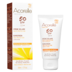 Crème solaire visage Fini poudré - Haute protection SPF50 - Acorelle