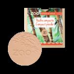 RECHARGE - Poudre compacte - Brun beige 303 - Zao MakeUp
