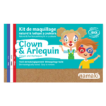 Kit de maquillage 3 couleurs - Clown et Arlequin - Namaki