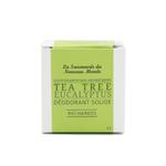 Recharges déodorant solide - Tea tree et Eucalyptus - La Savonnerie du Nouveau Monde