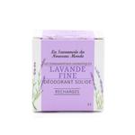 Recharges déodorant solide - Lavande fine - La Savonnerie du Nouveau Monde