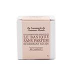 Recharges déodorant solide - Sans parfum - La Savonnerie du Nouveau Monde