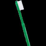 Brosse à dents écologique - Couleur verte - Poils médium - Caliquo