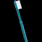 Brosse à dents écologique - Couleur Bleu turquoise - Poils médium - Caliquo