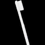 Brosse à dents écologique - Couleur blanche - Poils médium - Caliquo