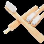 Brosse à dents à tête amovible, adulte médium - Boo