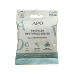 Dentifrice solide - 125 pastilles - APO
